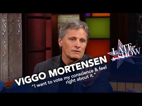 Viggo Mortensen Is Voting For Dr. Jill Stein