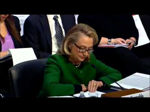 Clinton Testifies On Benghazi Before Senate Foreign Relations Committee