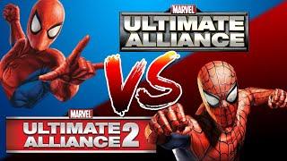 Marvel Ultimate Alliance vs. Marvel Ultimate Alliance 2
