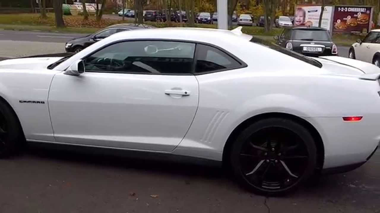 Camaro 2013 chevrolet camaro zl1 for sale : CHEVROLET Camaro ZL1 2013 weiss for sale - YouTube