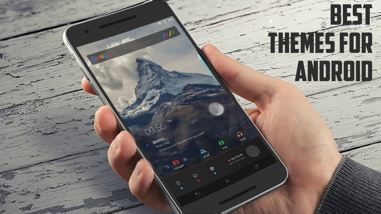 best themes for android 2016 themes for android youtube