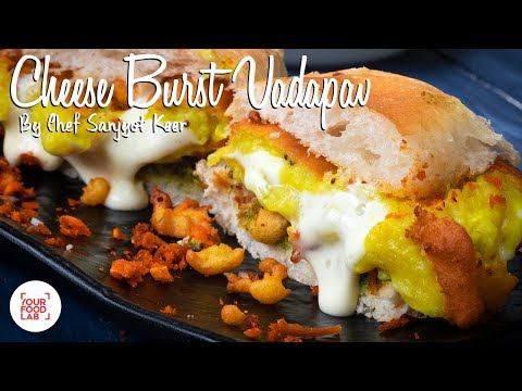 Cheese Burst Vadapav Recipe | Chef Sanjyot Keer
