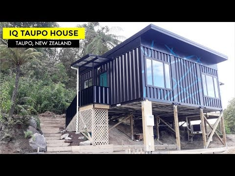 Taupo Container House by IQ Container Homes New Zealand