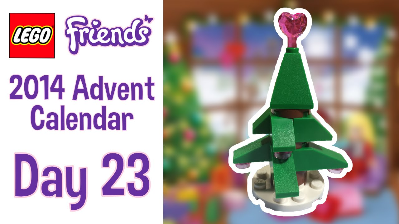 LEGO Friends 2014 Advent Calendar  Day 23  A Christmas Tree