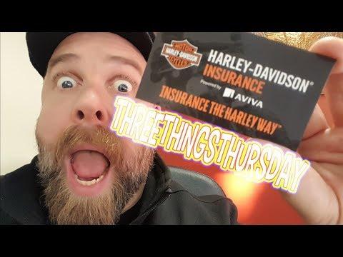 CLARE'S HD #THREETHINGSTHURSDAY - HARLEY-DAVIDSON® INSURANCE