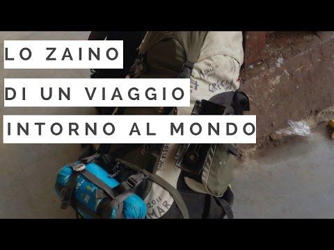 Come preparare uno zaino per un lungo viaggio - Trip Therapy GoPro Hero HD