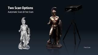 shining 3d einscan s desktop 3d scanner for fdm 3d printing