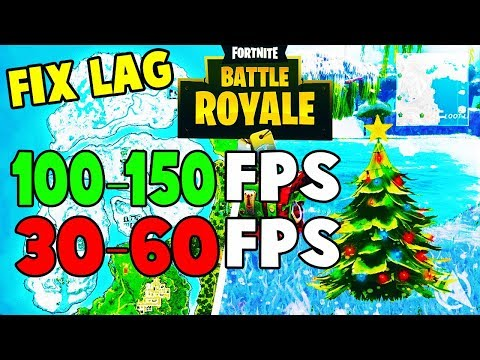 How To Boost FPS In Fortnite Snow Biome SEASON 7 (FIX LAG)