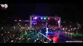 TAZAMA amsha amsha ya Mbosso Mwanza wasafi festival 2018