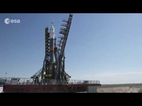 Así se prepara una Soyuz para su lanzamiento