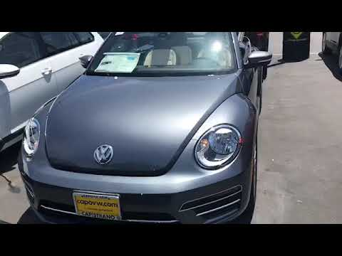 2019 Beetle SE Final Edition here at Capo VW. Video by Curtis 949 307 7662