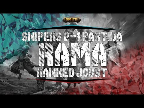 ROAD TO MASTER JOUST S4 / Rama - 2 Snipers 1 Partida #9