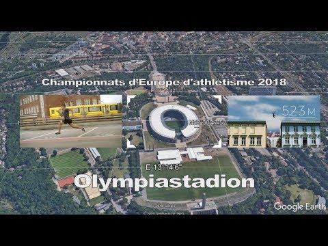 exzellente Qualität wähle spätestens Schnelle Lieferung LEICHTATHLETIK-EM / Olympiastadion, Berlin - Land de Berlin - Allemagne -  #GoogleEarth