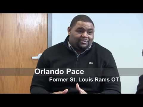 St. Louis Rams great Orlando Pace discusses Sam Bradford