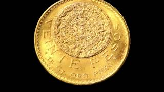 Mexican Gold 20 Pesos Coin
