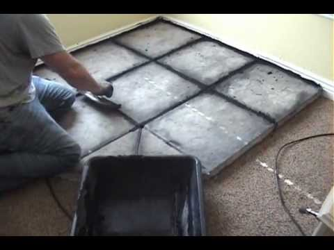 How to Build a Hearth for a Wood Burning Stove - How To Build A Hearth For A Wood Burning Stove - YouTube