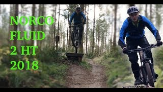 Norco Fluid 2 HT 2018 | Trails, jumping and climbing (just fun, not a review...yet)