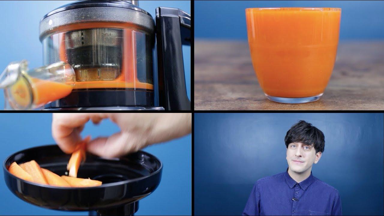 veto Mini / Fridja Mini Cold Pressed / Slow Masticating Juicer v1000 - Product Overview! - YouTube