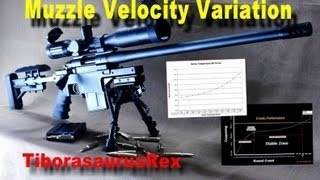 SNIPER 101 Part 58 - Ballistics Tables - Muzzle Velocity Variation (1/2)
