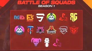 WWCD In Battle Of Squads Tournament ft. Scytes, Bablu, F4, Freestyle | PUBG Mobile | Skeleton Gaming