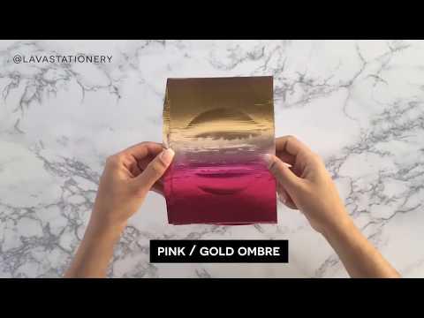 Lava's Favourite REACTIVE FOIL Colours!