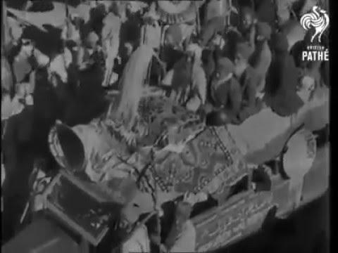 Rare Footage of Guru Gobind Singh Ji's Prakash Purab celebrated in 1943