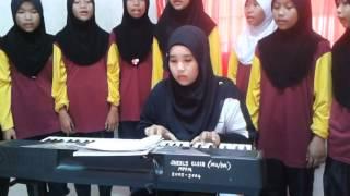 Latihan Persembahan Sempena Majlis Persaraan Guru Besar SK Jengka 21, 2014 Pada Syurga Di Wajahmu