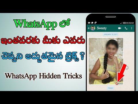 WhatsApp లో మీ Personal ఫొటోస్ ను delete అవకుండా కాపాడడం ఎలాగో చూడండి ( Telugu )
