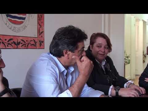 Em S.ANTÁO e S.JULIÃO do TOJAL Com A Comissão de Descentralização da AM Loures