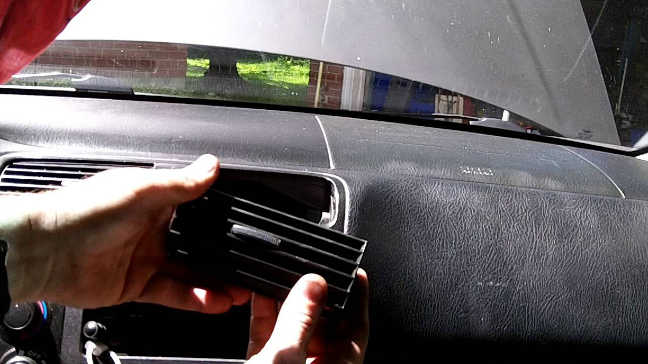 How To Fix Floppy Dashboard Air Vents Honda Civic Youtube