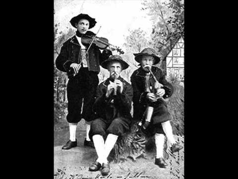 Bohemian Bagpipes - Historic Recording of Egerland Bagpipes