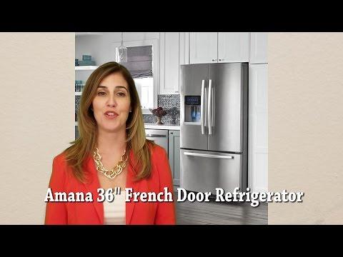 Amana 36 inch French Door Refrigerator AFI2539ERM