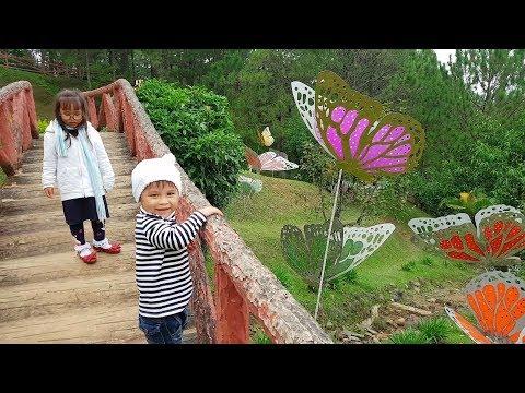 Trò Chơi Bé Vui Vườn Bướm Mùa Xuân ❤ ChiChi ToysReview TV ❤ Đồ Chơi Trẻ Em Baby Fun Bài Hát Vần Thơ