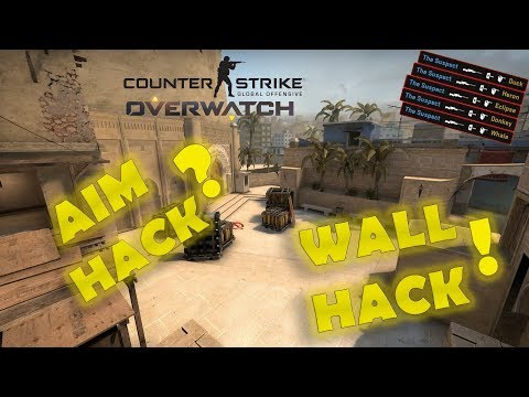 CS:GO І OVERWATCH І Wall Hack and Aim Hack ?! І Ep.1