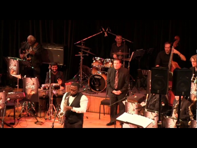Moreira Chonguica with UCT Alumni Big Band 2017