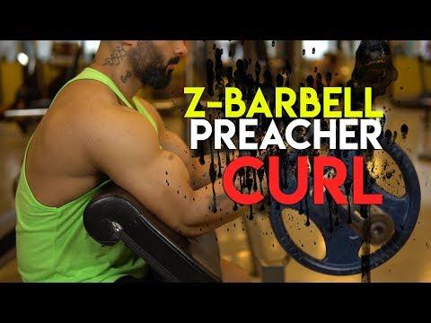 KOL HAREKETİ - Z Barbell Preacher ( Scott ) Curl Nasıl Yapılır