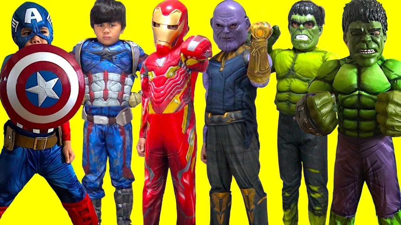Download KIDS COSTUME RUNWAY SHOW BEST MOMENTS Superheroes Marvel Hulk DC Disney Dress Up Fun! TBTFUNTV