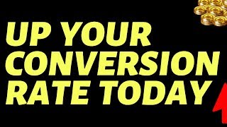 How To Increase Conversion Rate (FACEBOOK ADS)