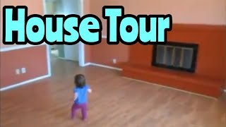 Kids React to the Original Oh Shiitake Mushrooms House Tour featuring Baby Leanna and Little Leland