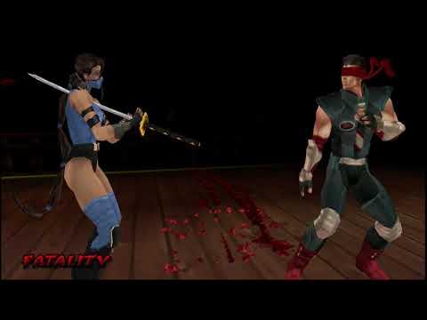Mortal Kombat: Unchained - Todos los Fatalities y Death Traps / All Fatalities & Death Traps