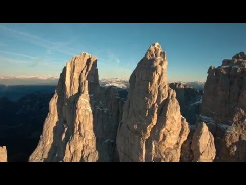 Climbing Delago Tower In The Dolomites