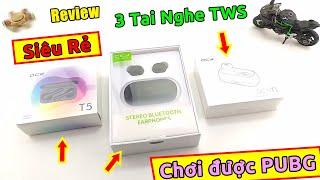 Trên tay 3 tai nghe bluetooth TWS QCY giá cực rẻ mà chơi được PUBG