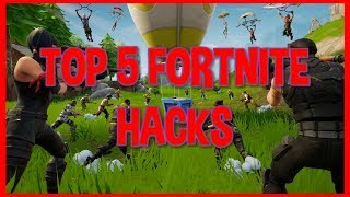 TOP 5 FORTNITE HACKS GRATUIT [PC/MAC/PS4/SWITCH/XBOX/iOS/ANDROID]