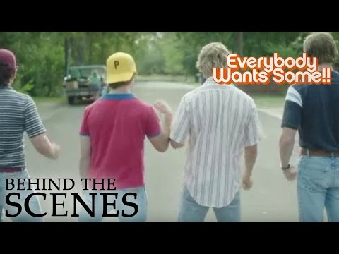 EVERYBODY WANTS SOME | In the Car | Official Behind the Scenes