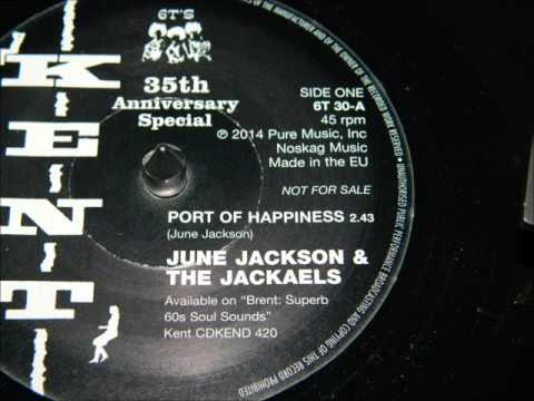 6T30A June Jackson & The Jackaels - Port Of Happiness