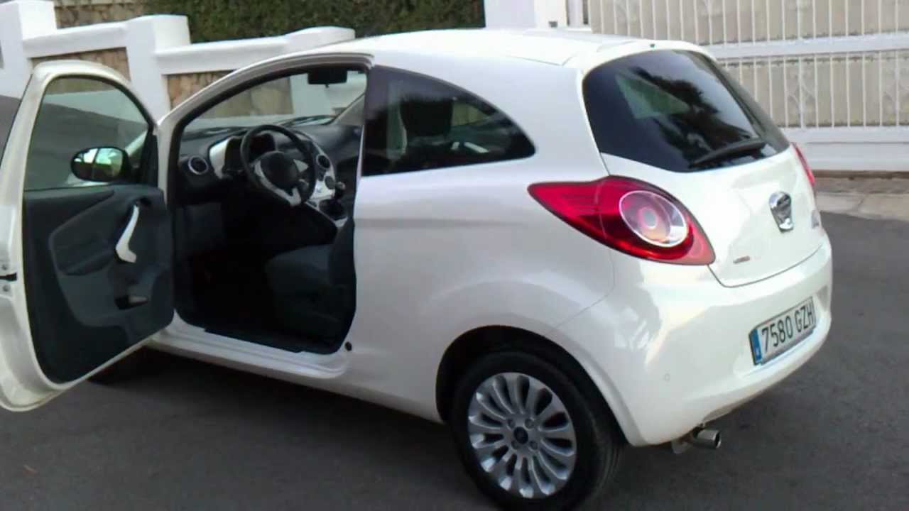 2010 ford ka 1 3 tdci titanium 3dr lhd for sale in spain youtube. Black Bedroom Furniture Sets. Home Design Ideas