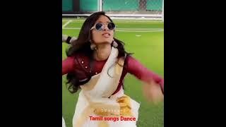 Tamil dancing gril New trending DJ songs rowdy girl dancing Tamil