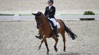 Clara Collard, 14 ans, vice championne de Belgique de Dressage Poney