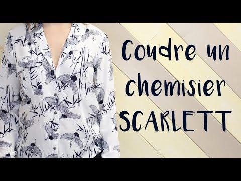 Coudre Scarlett Coudre Scarlett Un Un Un Chemisier Chemisier Coudre KcTlF1J