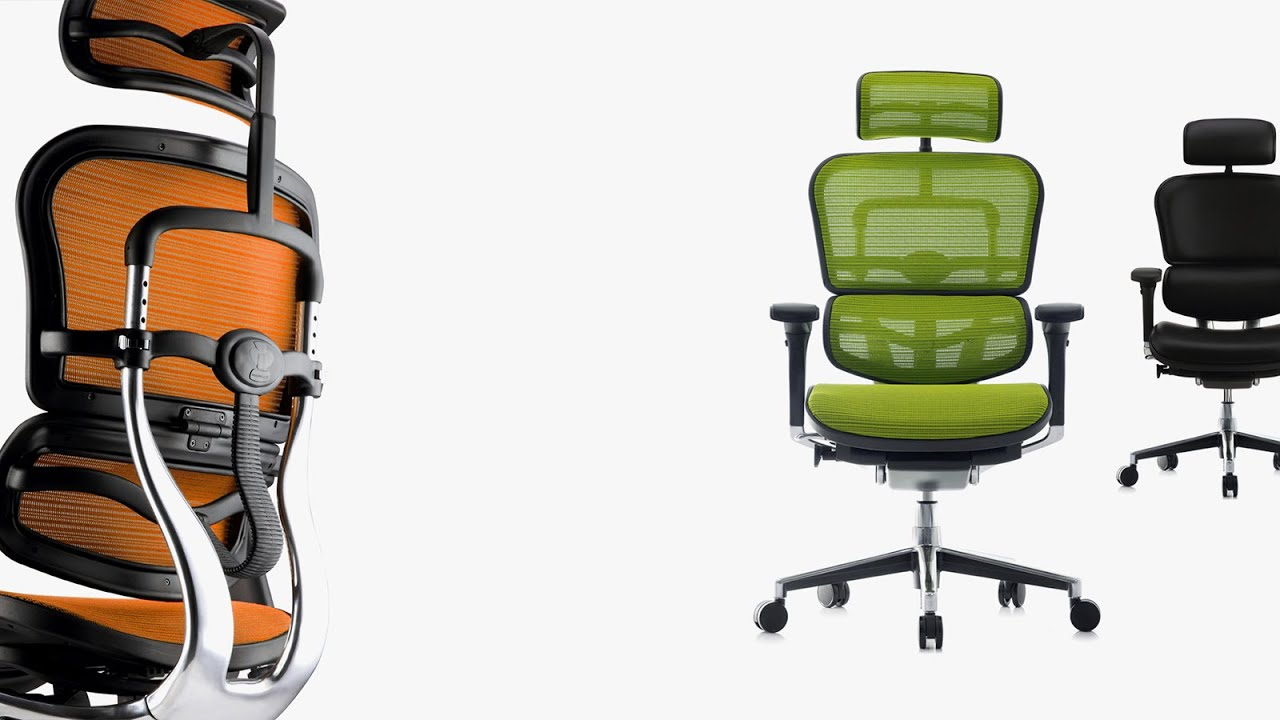 Ergohuman Ergonomic Office Chair - YouTube